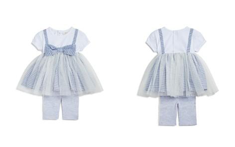 Miniclasix Girls' Striped Tutu Shirt Dress & Capri Leggings Set - Baby - Bloomingdale's_2