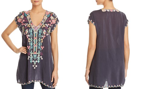 Johnny Was Petunia Embroidered Tunic - Bloomingdale's_2
