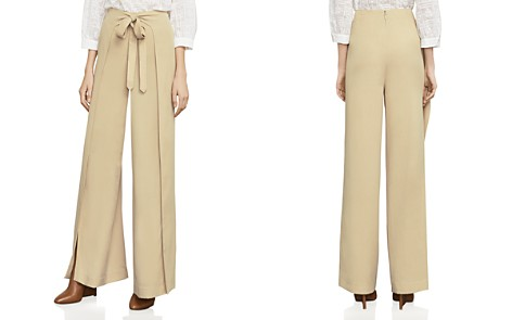 BCBGMAXAZRIA Jacklin Tie-Front Pants - Bloomingdale's_2