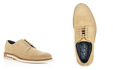 Ted Baker Men's Lapiin Embossed Suede Brogue Oxfords - Bloomingdale's_2