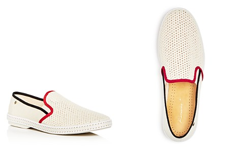 Rivieras Men's Hot Rod Woven Loafers - Bloomingdale's_2
