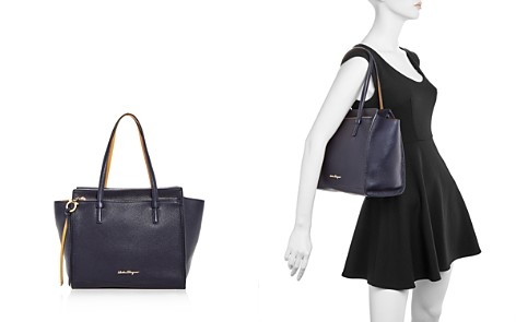 Salvatore Ferragamo Amy Medium Leather Tote - Bloomingdale's_2