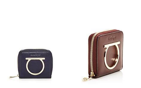 Salvatore Ferragamo Leather Zip Wallet - Bloomingdale's_2