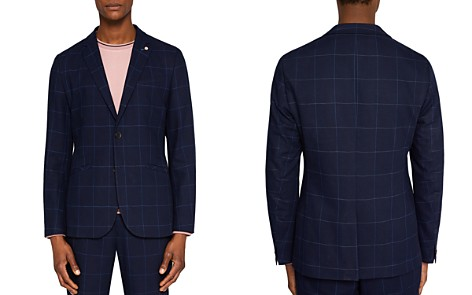 Ted Baker Izar Windowpane Check Regular Fit Sport Coat - Bloomingdale's_2
