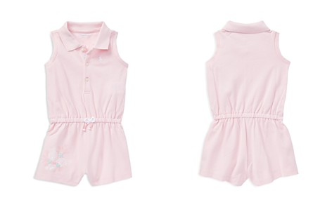 Ralph Lauren Girls' Seashell Polo Romper - Baby - Bloomingdale's_2