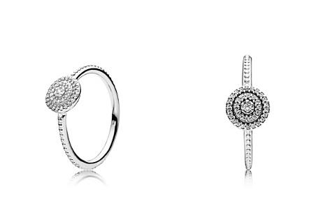 PANDORA Sterling Silver & Cubic Zirconia Radiant Elegance Statement Ring - Bloomingdale's_2