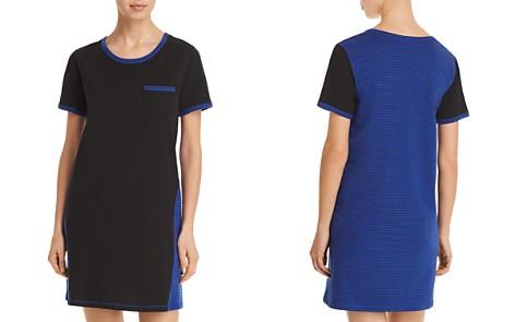 Naked Essential Power Stripe Short Sleepshirt - Bloomingdale's_2