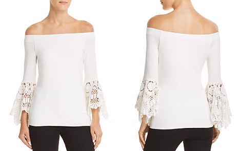 Bailey 44 Bell Sleeve Off-the-Shoulder Top - Bloomingdale's_2