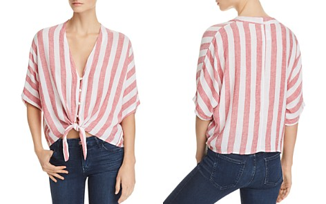 Rails Thea Striped Tie-Front Shirt - Bloomingdale's_2