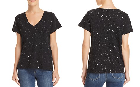LNA Riva Galaxy Splatter Print Tee - Bloomingdale's_2
