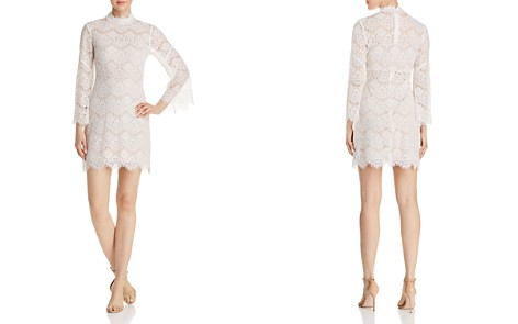 AQUA Illusion Lace Dress - 100% Exclusive - Bloomingdale's_2