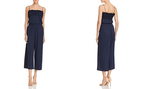 Rebecca Taylor Ruffled Jersey Jumpsuit - Bloomingdale's_2