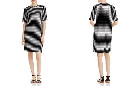 Eileen Fisher Striped Organic Linen Dress - Bloomingdale's_2