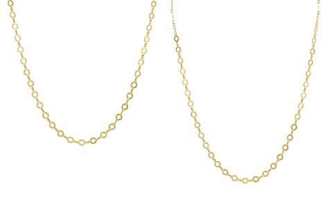 "Argento Vivo Round Flat Cut Diamond Shape Necklace, 15"" - Bloomingdale's_2"