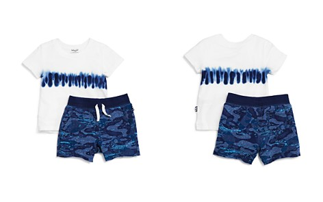Splendid Boys' Tie-Dyed Tee & Whale Camouflage Shorts Set - Baby - Bloomingdale's_2