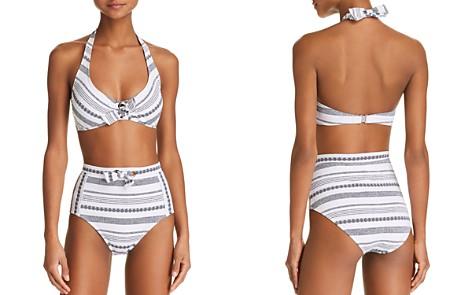 Tommy Bahama Sandbar Underwire Bikini Top & Sandbar High Waist Bikini Bottom - Bloomingdale's_2