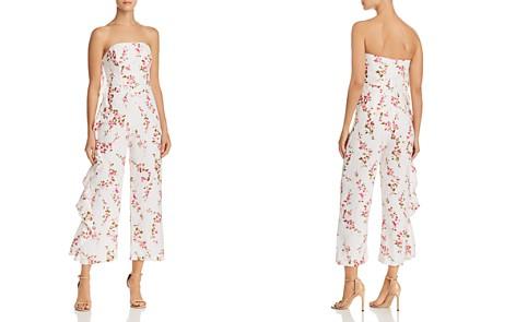 Karina Grimaldi Ramona Ruffled Floral Linen Jumpsuit - Bloomingdale's_2