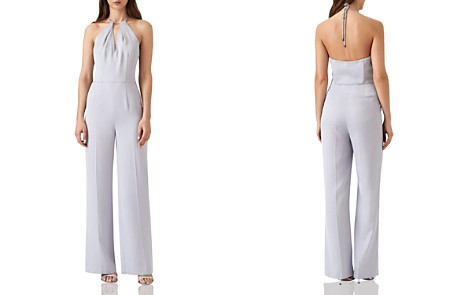 REISS Carta Halter Jumpsuit - Bloomingdale's_2