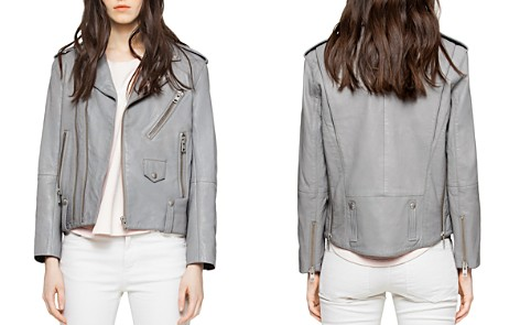 Zadig & Voltaire Liya Leather Moto Jacket - Bloomingdale's_2