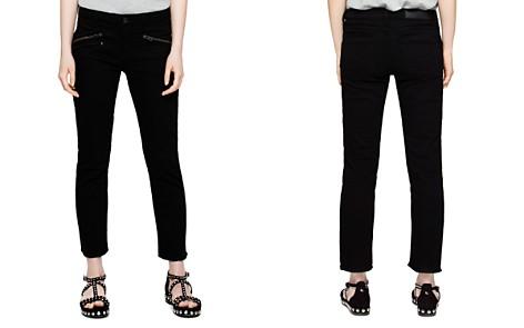 Zadig & Voltaire Ava Skinny Jeans in Black - Bloomingdale's_2