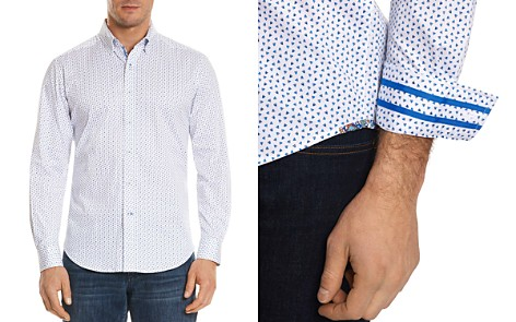 Robert Graham Mitchell Pattern Regular Fit Button-Down Shirt - Bloomingdale's_2