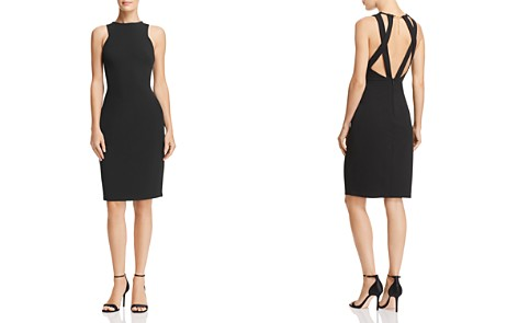 Laundry by Shelli Segal Open-Back Crepe Dress - Bloomingdale's_2