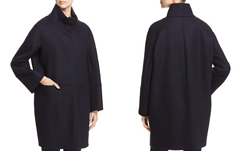 Weekend Max Mara Danza Virgin Wool Funnel-Neck Coat - Bloomingdale's_2