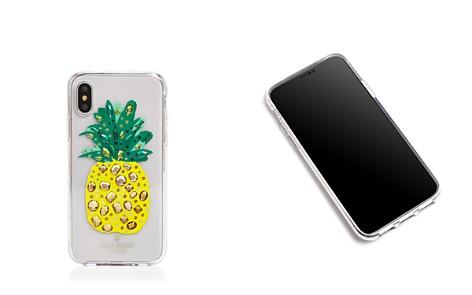 kate spade new york Jeweled Pineapple iPhone X Case - Bloomingdale's_2