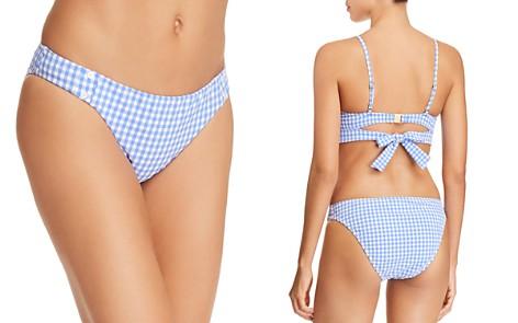 Nanette Lepore Capri Gingham Bikini Bottom - Bloomingdale's_2