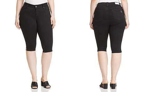 SLINK Jeans Plus Slim Bermuda Shorts - Bloomingdale's_2