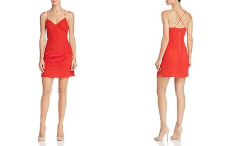 Alice + Olivia Daria Swiss Dot Ruched Dress - Bloomingdale's_2