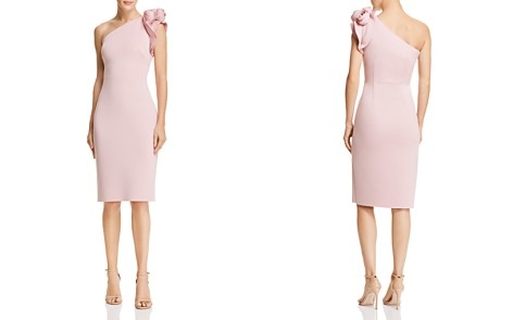 Eliza J One-Shoulder Floral-Detail Dress - Bloomingdale's_2