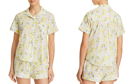 Jane & Bleecker New York Lemonade Short Pajama Set - Bloomingdale's_2