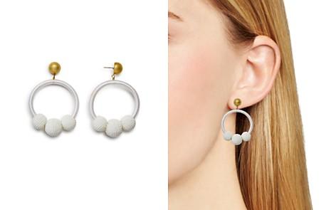kate spade new york Loop & Ball Statement Drop Earrings - Bloomingdale's_2