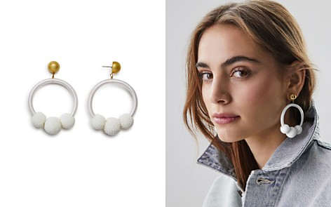 kate spade new york Loop & Ball Statement Drop Earrings - Bloomingdale's_2