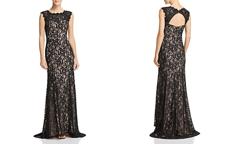Decode 1.8 Scalloped Lace Gown - Bloomingdale's_2