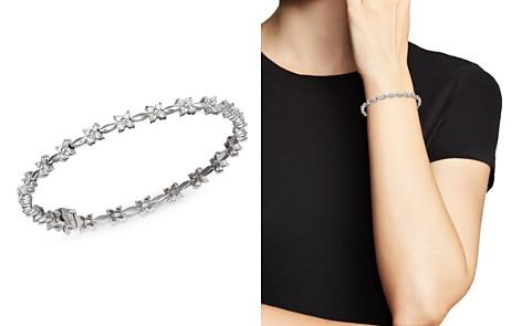 Bloomingdale's Diamond Flower Bracelet in 14K White Gold, 2.0 ct. t.w. - 100% Exclusive _2