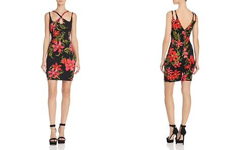 GUESS Serena Strappy Floral Print Dress - Bloomingdale's_2