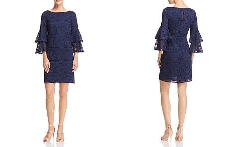 Eliza J Bell-Sleeve Lace Dress - Bloomingdale's_2