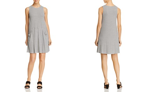 AQUA Striped Jersey Shift Dress - 100% Exclusive - Bloomingdale's_2