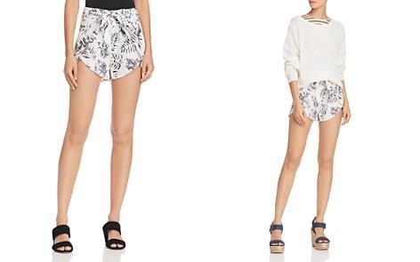 AQUA Palm Print Shorts - 100% Exclusive - Bloomingdale's_2