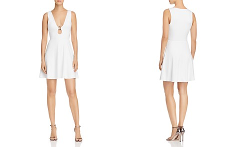 FORE Hardware Detail Fit-and-Flare Dress - Bloomingdale's_2
