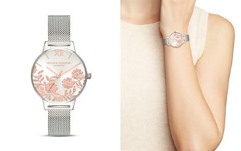 Olivia Burton Lace Detail Watch, 30mm - Bloomingdale's_2