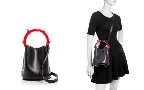 Marni Small Leather Bucket Bag - Bloomingdale's_2