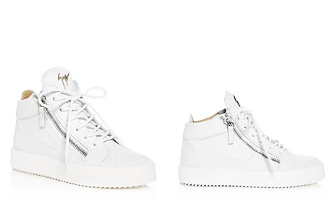 Giuseppe Zanotti Women's May London Snake & Croc Embossed Leather High Top Sneakers - Bloomingdale's_2
