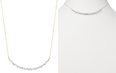 "Adina Reyter Sterling Silver & 14K Yellow Gold Scattered Diamond Large Curve Collar Necklace, 13.5"" - Bloomingdale's_2"