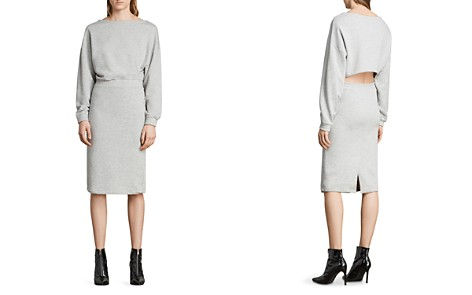 ALLSAINTS Chrissy Sweatshirt Dress - Bloomingdale's_2
