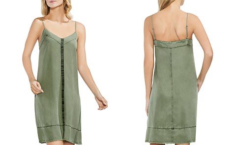 VINCE CAMUTO Twill Slip Dress - Bloomingdale's_2