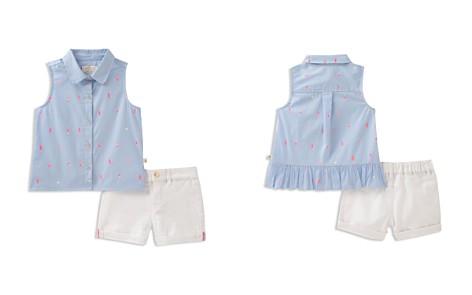 kate spade new york Girls' Striped Ice Pop Print Shirt & Cuffed Shorts Set - Little Kid - Bloomingdale's_2