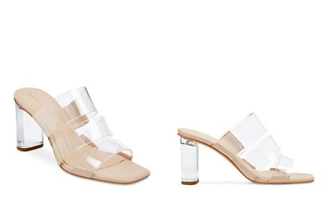 KENDALL and KYLIE Women's Leila2 Lucite Block Heel Sandals - Bloomingdale's_2